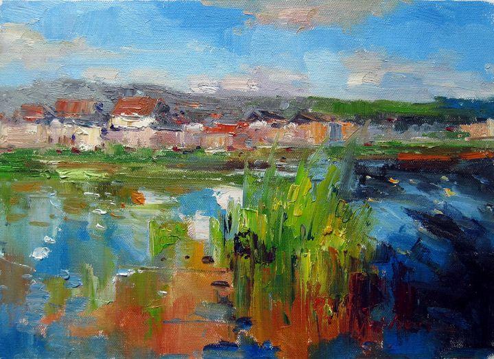 By the river #110 - Richard Zheng