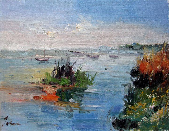 By the river #112 - Richard Zheng