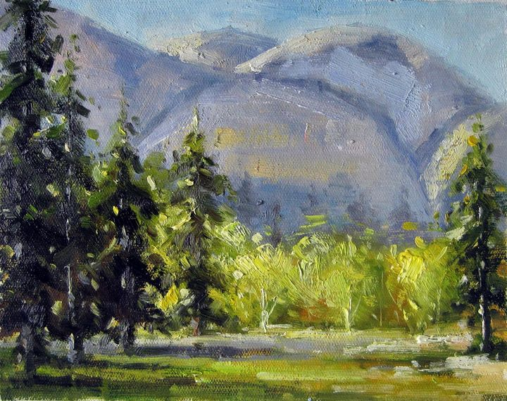 Mountain #601 - Richard Zheng