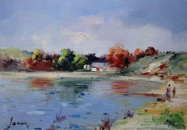 By the river #113 - Richard Zheng