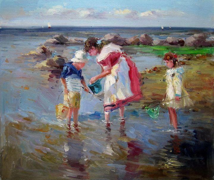 Play on the beach #244 - Richard Zheng
