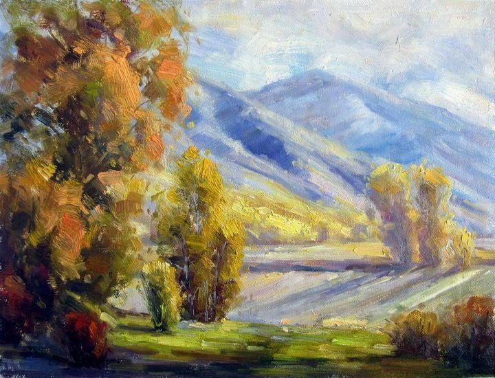 Mountain #105 - Richard Zheng