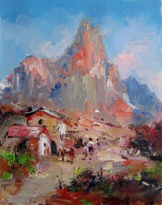 Mountain #109 - Richard Zheng