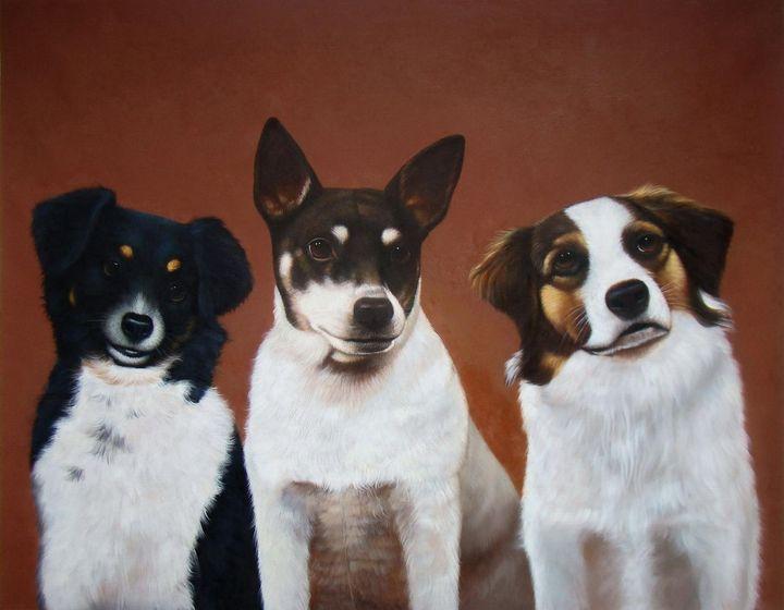 Pet portrait - dog #032 - Richard Zheng