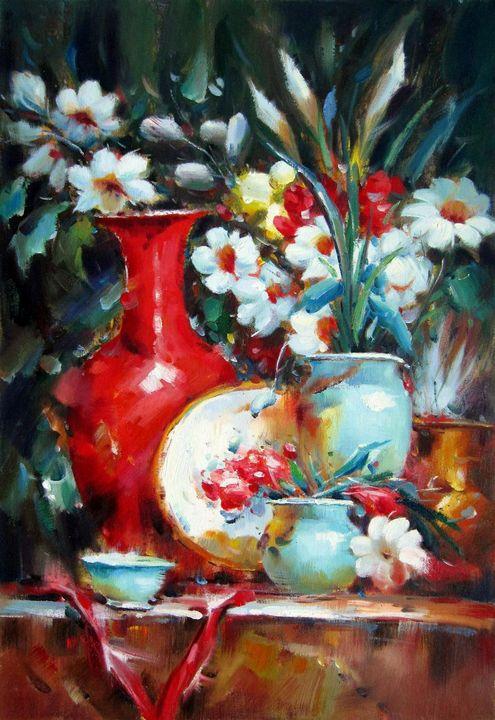 Flower and china #002 - Richard Zheng