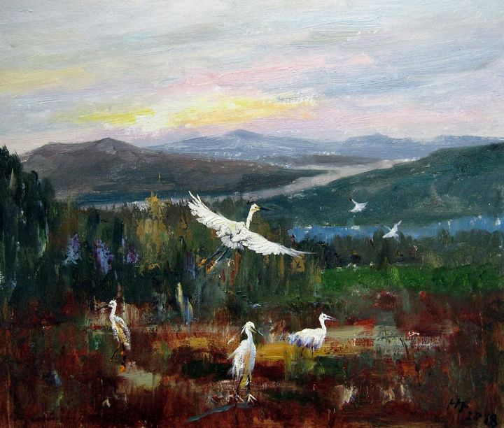 By the river #028 - Richard Zheng