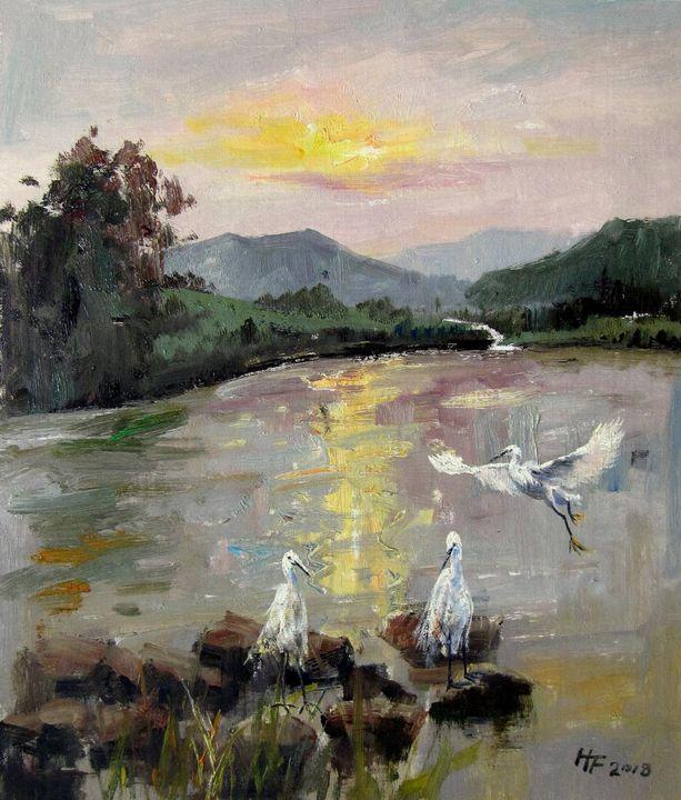 By the river #029 - Richard Zheng