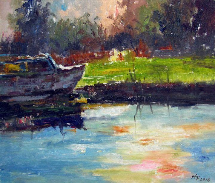 By the river #030 - Richard Zheng
