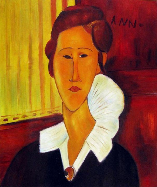repro. Amedeo Modigliani #016 - Richard Zheng