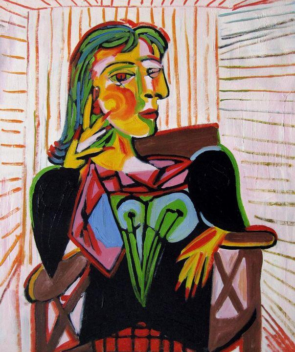 repro. Pablo Picasso #010 - Richard Zheng