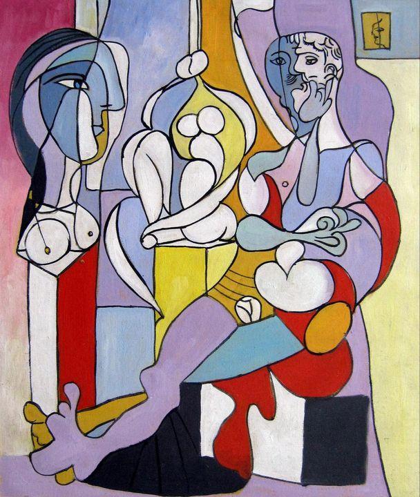 repro. Pablo Picasso #011 - Richard Zheng