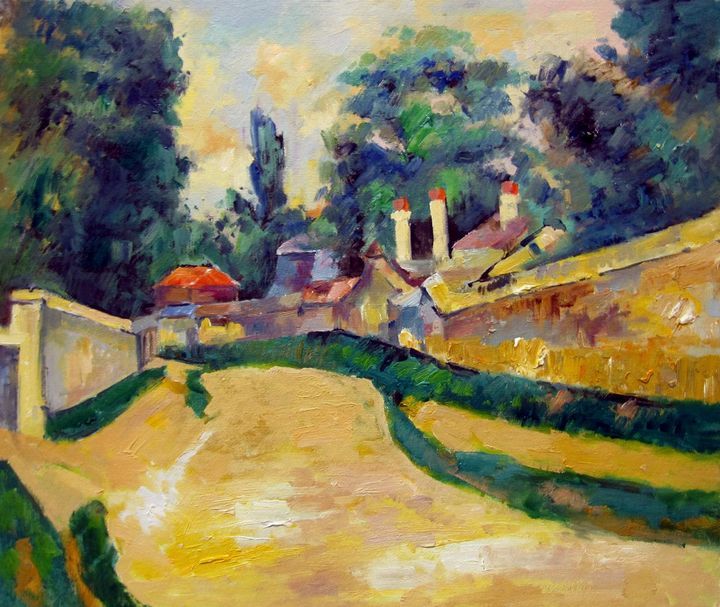 repro. Paul Cezanne #027 - Richard Zheng