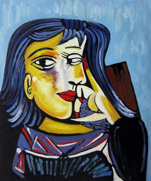repro. Pablo Picasso #012 - Richard Zheng