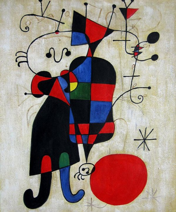 repro. Joan Miro #006 - Richard Zheng