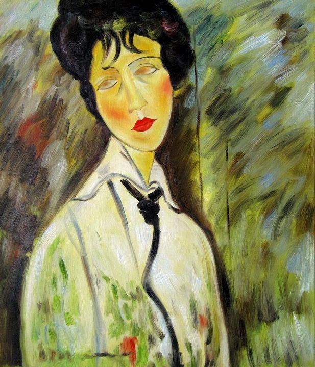 repro. Amedeo Modigliani #018 - Richard Zheng