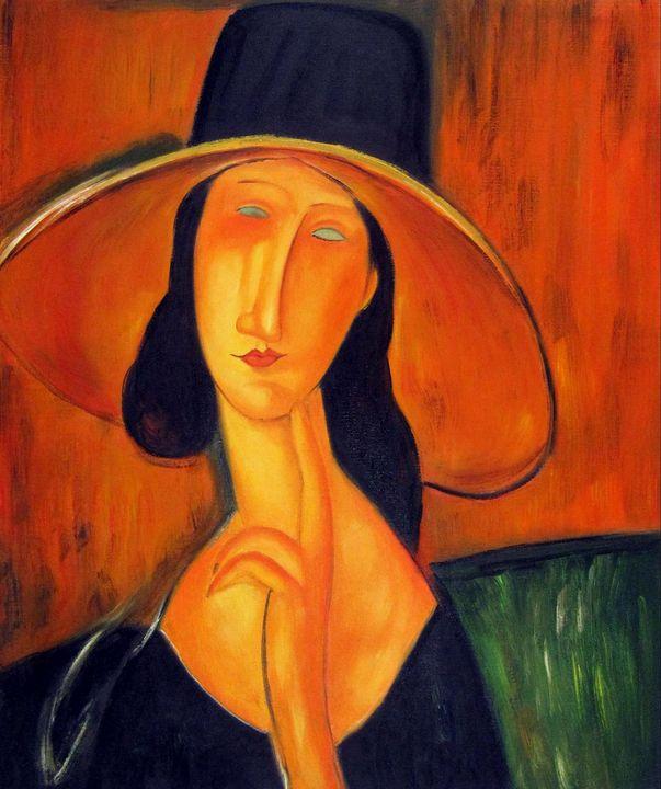 repro. Amedeo Modigliani #019 - Richard Zheng