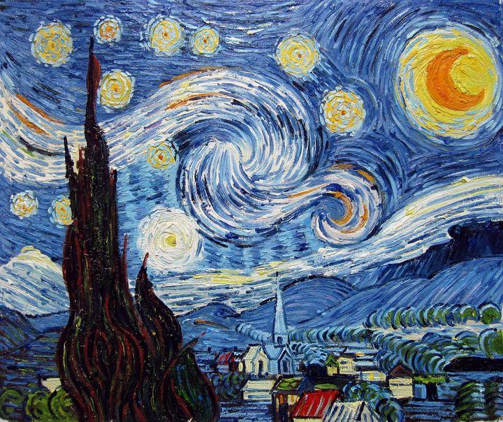 repro. Vencent Van Gogh #106 - Richard Zheng