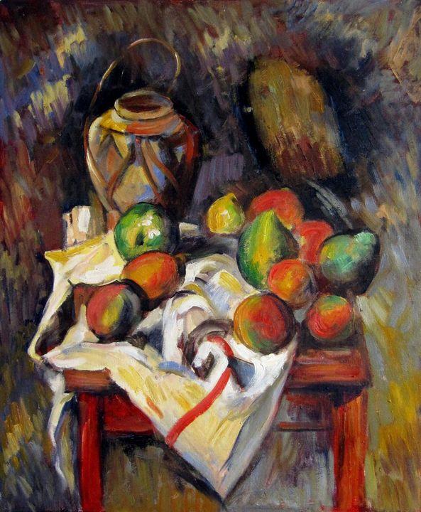 repro. Paul Cezanne #038 - Richard Zheng