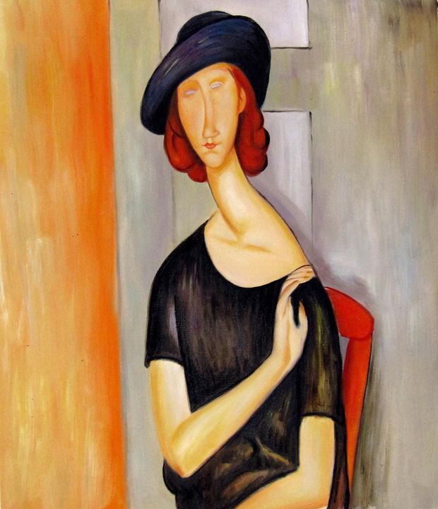 repro. Amedeo Modigliani #020 - Richard Zheng