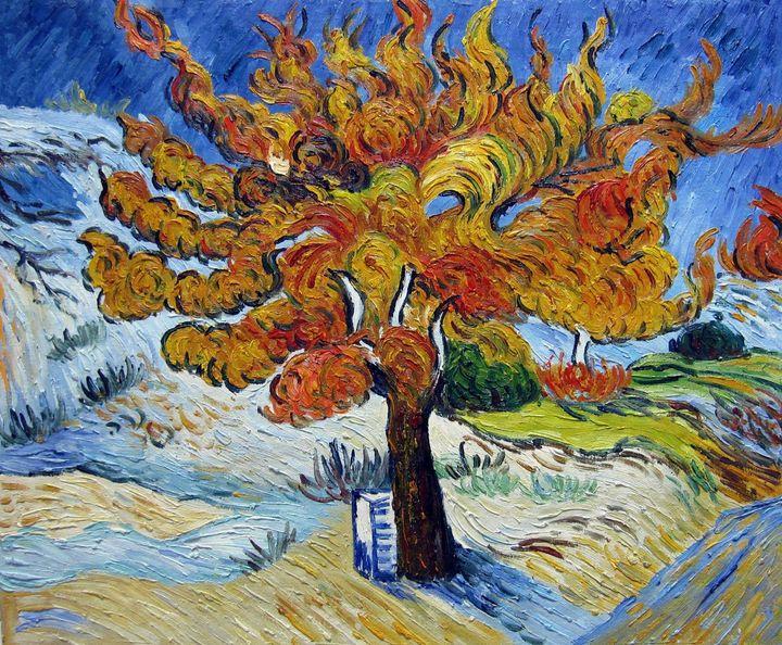 repro. Vencent Van Gogh #107 - Richard Zheng