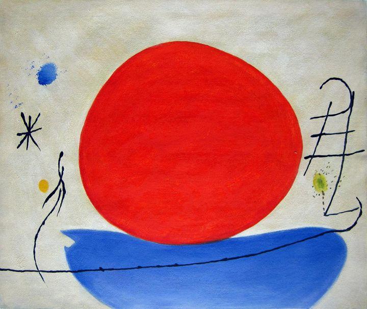 repro. Joan Miro #008 - Richard Zheng