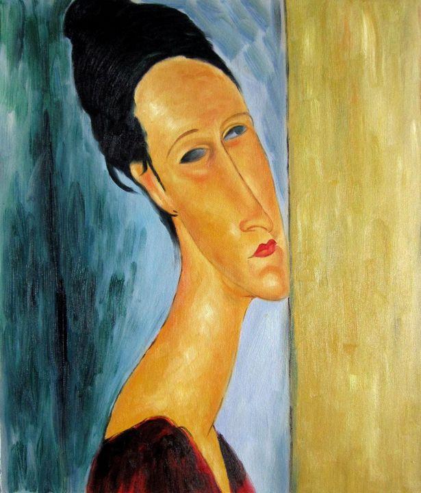 repro. Amedeo Modigliani #021 - Richard Zheng