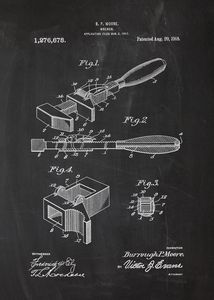 1918 Wrench Patent Drawing