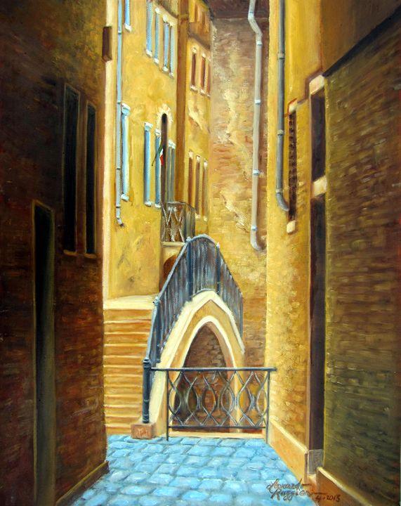 Mysterious Venice - Leonardo Ruggieri Fine Art Paintings