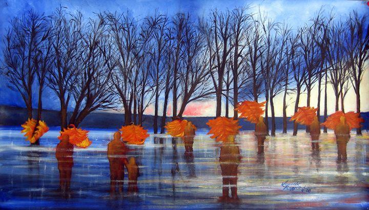 Field of Dreams - Leonardo Ruggieri Fine Art Paintings
