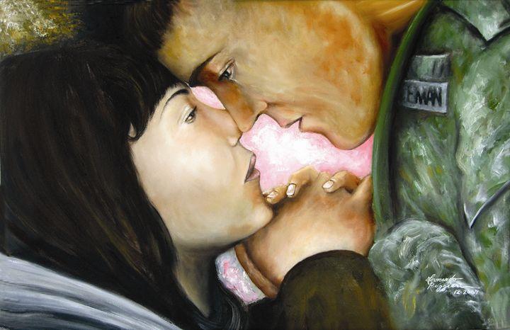 Farewell Embrace - Leonardo Ruggieri Fine Art Paintings