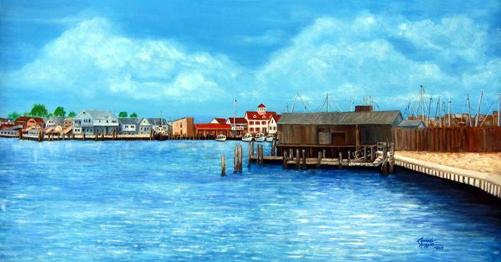 Point Pleasant Beach, NJ - Leonardo Ruggieri Fine Art Paintings