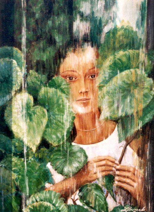 Rainy Day - Leonardo Ruggieri Fine Art Paintings