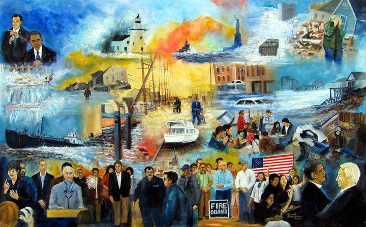 Tumoltuous 2012 - Leonardo Ruggieri Fine Art Paintings