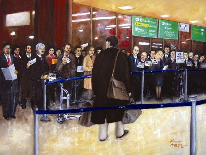 Where's My Ride? - Leonardo Ruggieri Fine Art Paintings