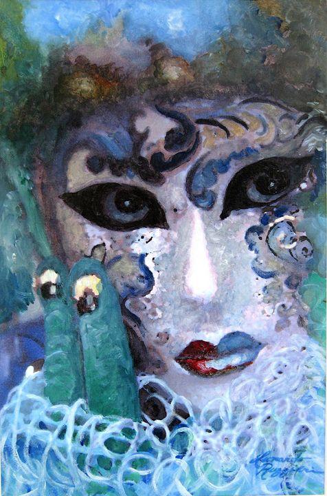Venetian Carnival 4 - Leonardo Ruggieri Fine Art Paintings