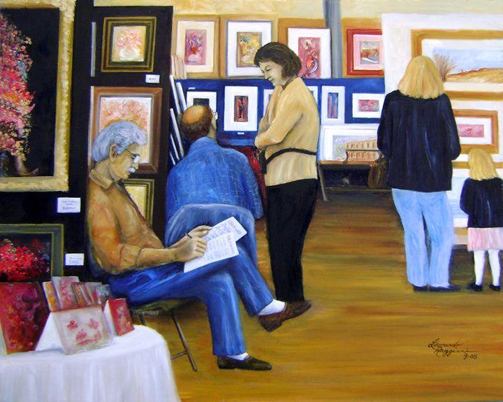 Christian Brothers Acadamy Art Show - Leonardo Ruggieri Fine Art Paintings