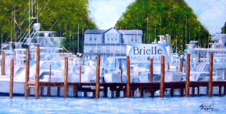 Brielle, NJ - Leonardo Ruggieri Fine Art Paintings