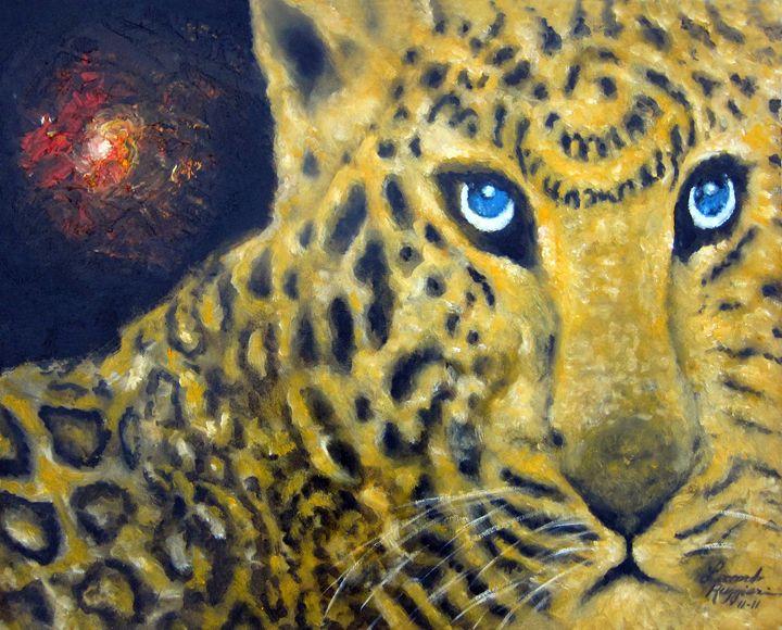 In Memorium. . . Save Wild Life - Leonardo Ruggieri Fine Art Paintings