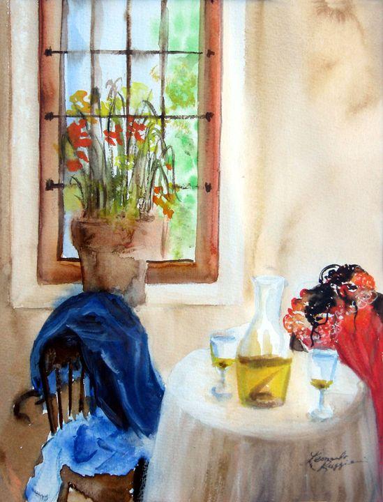 Afternoon Delight - Leonardo Ruggieri Fine Art Paintings