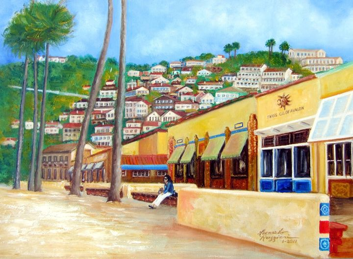 Avalon, Catalina Island - Leonardo Ruggieri Fine Art Paintings