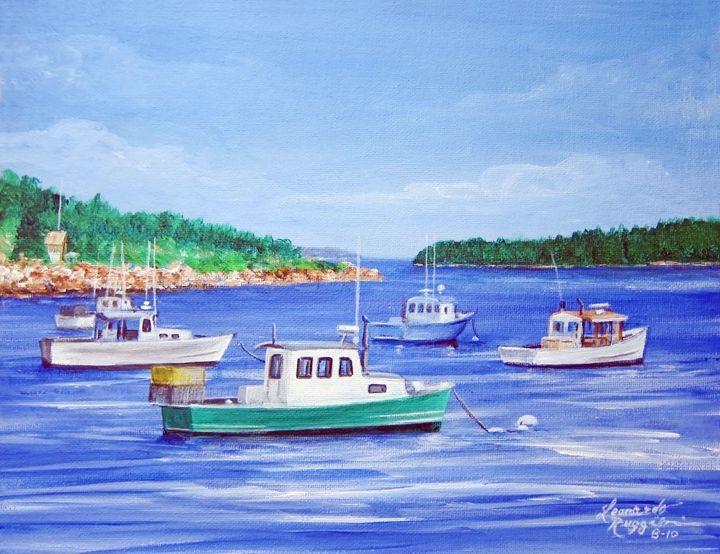 Visions of Maine 1 - Leonardo Ruggieri Fine Art Paintings