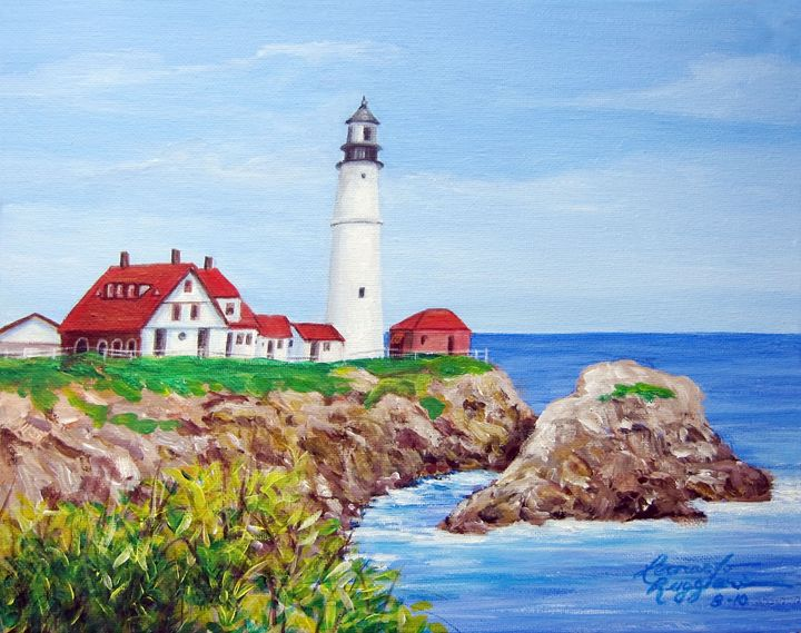 Visions of Maine 2 - Leonardo Ruggieri Fine Art Paintings