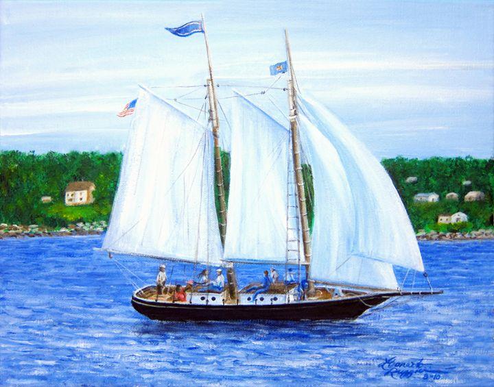 Visions of Maine 3 - Leonardo Ruggieri Fine Art Paintings