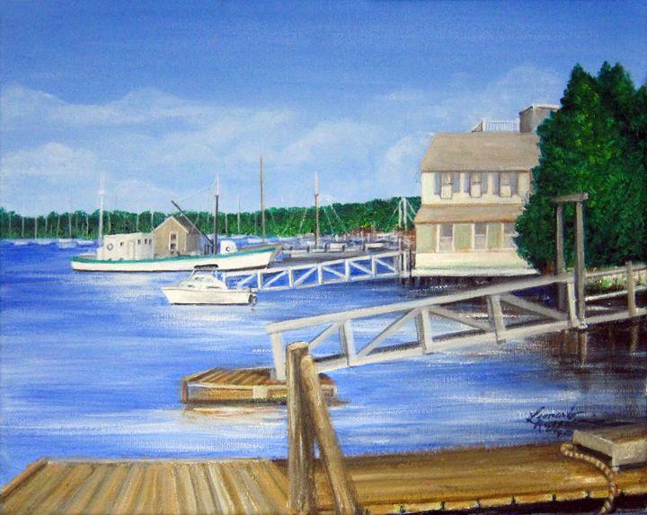 Visions of Maine 4 - Leonardo Ruggieri Fine Art Paintings