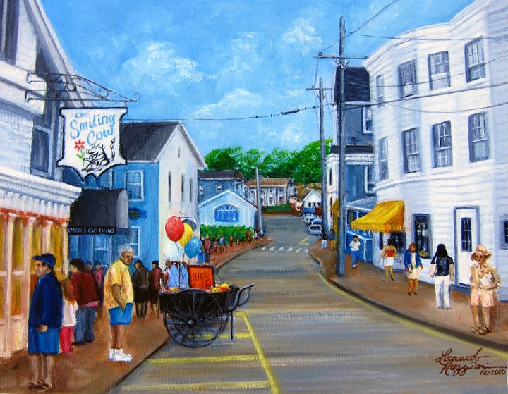 Visions of Maine 5 - Leonardo Ruggieri Fine Art Paintings