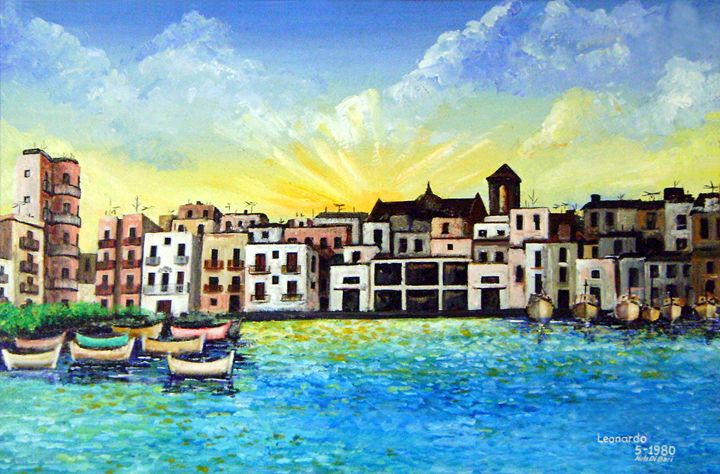 Mola Di Bari, Italy - Leonardo Ruggieri Fine Art Paintings