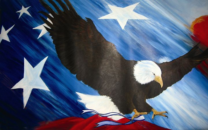 Our Country Tis of Thee 2 - Leonardo Ruggieri Fine Art Paintings