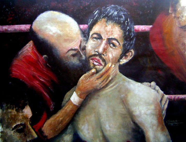 What Am I Doing Here - Leonardo Ruggieri Fine Art Paintings