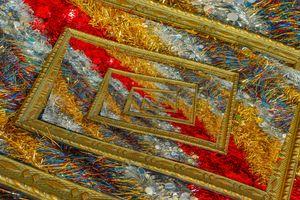 effect  droste of  shimmering christ