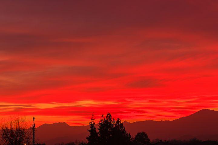 a spectacular sunset - susanna mattioda